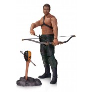 Figura Action 18cm OLIVER QUEEN con TOTEM da Serie Tv ARROW Originale DC COLLECTIBLES