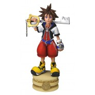 Figura 15cm Head Knocker RIKU da KINGDOM HEARTS Originale Ufficiale NECA