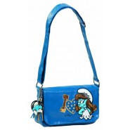 SMURFETTE Original SHOULDER BAG 26x20cm BLUE Official SMURF Smurfs