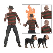 Figura Action FREDDY KRUEGER da NIGHTMARE 2 La Vendetta Versione ULTIMATE Originale NECA