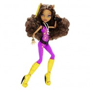 CLAWDEEN WOLF Rock Music Festival BAMBOLA Figura da MONSTER HIGH Originale Mattel Y7693