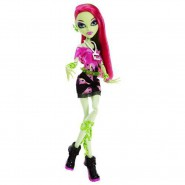 VENUS McFLYTRAP Rock Music Festival BAMBOLA Figura da MONSTER HIGH Originale Mattel Y7694