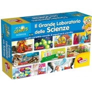 Giant Playset Science BIG LABORATORY OF SCIENCE Original LISCIANI 56378