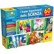 Playset SUPER ESPERIMENTI DELLA SCIENZA con 5 KIT e 60 Attivita' Originale Scienza I'M A Genius LISCIANI 60337