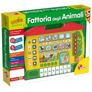 Playset Elettronico LA FATTORIA DEGLI ANIMALI Originale CAROTINA 64151 LISCIANI