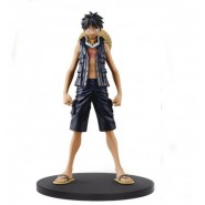 Figura RUFY LUFFY da ONE PIECE GOLD The Film 18cm Original GRANDLINE MEN Volume 1 Banpresto
