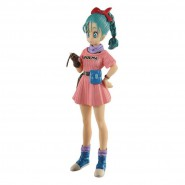 DRAGONBALL Z Figura BULMA 16cm Originale BANPRESTO SCultures Big Colosseum 7 Vol 5