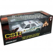 RARE CHASE VERSION Green Wheels - Model FORD CROWN VICTORIA Police Interceptor CSI MIAMI Scale 1:43 GREENLIGHT c.s.i.