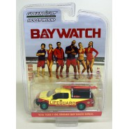 RARE CHASE VERSION Green Wheels Model Car LIFEGUARD Pickup Beach Patrol From BAYWATCH 1/64 Greenlight