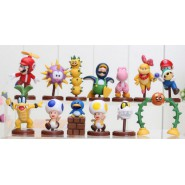 Rare COMPLETE SET 13 Figures Collection SUPER MARIO BROS Nintendo WII Part 2 Japan