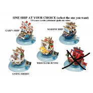 ONE PIECE Mini Model SHIP 5cm CHOOSE MODEL  Original MEGAHOUSE Trading Figures SHIPS Serie 1