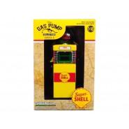 VARIANTE Chase VERDE Modello POMPA Benzina SUPER Shell Scala 1:18 Serie VINTAGE GAS PUMP COLLECTION