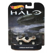 Modellino Metallo Jeep URBAN WARTHOG dal videogioco HALO 7cm Scala 1/64  ORIGINALE Hot Wheels FLD07