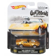 Modellino Metallo CORVETTE 1968 da GAS MONKEY GARAGE 7cm Scala 1/64  ORIGINALE Hot Wheels FLD07
