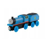 Train Model EDWARD from THOMAS and FRIENDS Metal and Wood 14cm Original FISHER PRICE Y4071 Wooden Railway