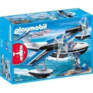 Playset POLICE WATER PLANE Action PLAYMOBIL 9436
