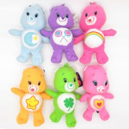 SET 6 Plushes Soft Toys 20cm CARE BEARS Serie 2 ORIGINAL