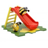 SLIDE Playset With Figures of Buzzbee and Jasper HOUSE OF THE BEES THE HIVE Original