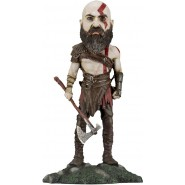 KRATOS Figura RESINA Head Knocker 22cm da GOD OF WAR 8 2018  Originale Ufficiale NECA