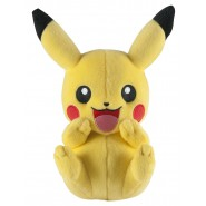 POKEMON PIKACHU Laughing 20cm (8'') ORIGINAL Tomy