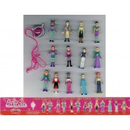 W.I.T.C.H. DISNEY Witch RARO Set 13 Mini Figure + CIONDOLO Originali