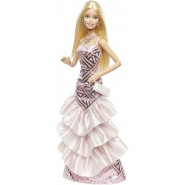 BARBIE Bambola Fashion 30cm Gonna Balze PINK And FABULOUS Mattel CHH06