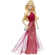 BARBIE Bambola Fashion 30cm Gonna Stretta PINK And FABULOUS Mattel CHH05