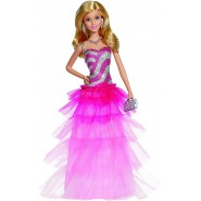 BARBIE Bambola Fashion 30cm Gonna Volant PINK And FABULOUS Mattel BFW18