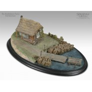 Environment in POLYSTONE BUCKLEBURY FERRY Lord Of The Ring NUMBERED EDITION 23cm (9'')