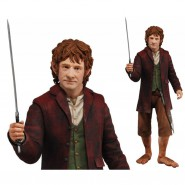 Action Figure  BILBO BAGGINS Lo Hobbit Lord of the ring NECA  30cm (12'')