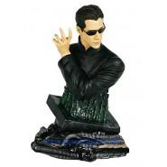 Statua RESINA Busto NEO Matrix Revolutions EDIZIONE NUMERATA 18cm NUOVA