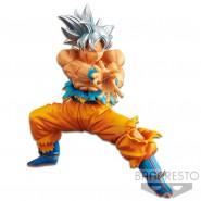 DRAGON BALL Figura Statua 18cm GOKU ULTRA INSTINCT Super Warriors Originale BANPRESTO Japan Dragonball