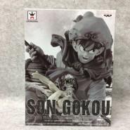 DRAGON BALL Figura Statua 14cm GOKU JOURNEY TO THE WEST Black White Version Originale BANPRESTO Japan Dragonball