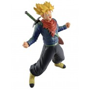 DRAGON BALL Figure Statue 18cm TRUNKS Scream WORLD FIGURE COLOSSEUM Vol 6 Color Version Original BANPRESTO Japan Dragonball