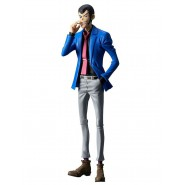 Figure Statue LUPIN with CIGARETTE Blue Jacket 26cm Serie MASTER STARS PIECE Part 5 Original BANPRESTO