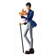 Figure Statue LUPIN Takes Off Mask 16cm  COLOR VERSION Serie CREATOR X CREATOR Part 5 Original BANPRESTO