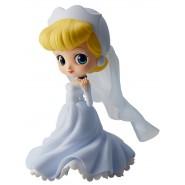 Figura Statuetta 14cm CENERENTOLA Versione azzurro chiaro QPOSKET Banpresto DISNEY Cinderella