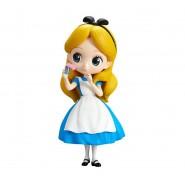Figura Statuetta 14cm ALICE Nel Paese Delle Meraviglie Vestito BLU QPOSKET Banpresto DISNEY Cinderella Versione A