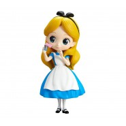 Figure Statue 14cm ALICE in wonderland Blue Dress QPOSKET Banpresto DISNEY Version A