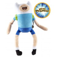 Peluche 30cm FINN L'AVVENTURIERO da ADVENTURE TIME Originale CARTOON NETWORK New