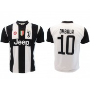 New PAULO DYBALA Number 10 JUVENTUS 2018/2019 T-Shirt Jersey HOME Official Replica