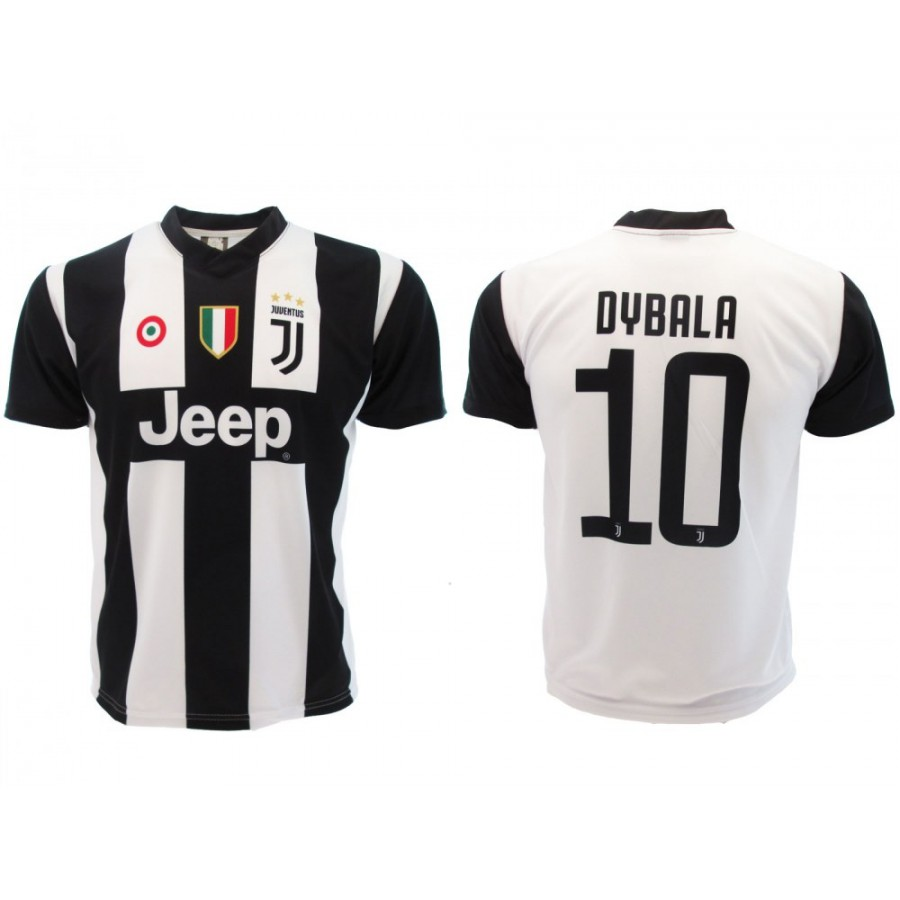 sports shoes 887bb c7cb1 New PAULO DYBALA Number 10 JUVENTUS 2018/2019 T-Shirt Jersey HOME Official  Replica