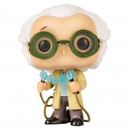 BACK TO THE FUTURE Figure DOC Dr. EMMETT BROWN 10cm Funko POP 236 LOOT CRATE EXCLUSIVE