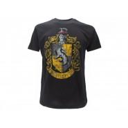 HARRY POTTER T-Shirt Maglietta STEMMA Casa TASSOROSSO Logo UFFICIALE Warner Bros