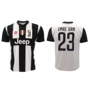 New EMRE CAN Number 23 JUVENTUS 2018/2019 T-Shirt Jersey HOME Official Replica