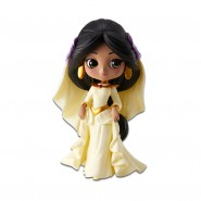 Figure Statue 14cm JASMINE Wedding Dress Beige QPOSKET Banpresto DISNEY Version A