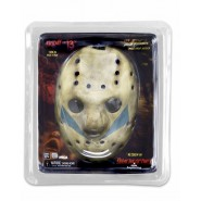 MASCHERA Pop Replica JASON VORHEES da VENERDI 13 Part 5 Indossabile RESINA Originale NECA