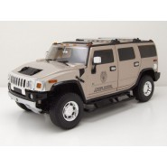 Modello DieCast HUMMER H2 (2003) di HORATIO CAINE Telefilm CSI MIAMI Scala 1:18 GREENLIGHT