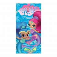 Beach Towel SHIMMER And SHINE What's Your Wish 140x70cm ORIGINALE