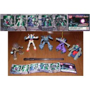 SET 5 Figures Robot GUNDAM Serie PART 8 BANDAI Gashapon